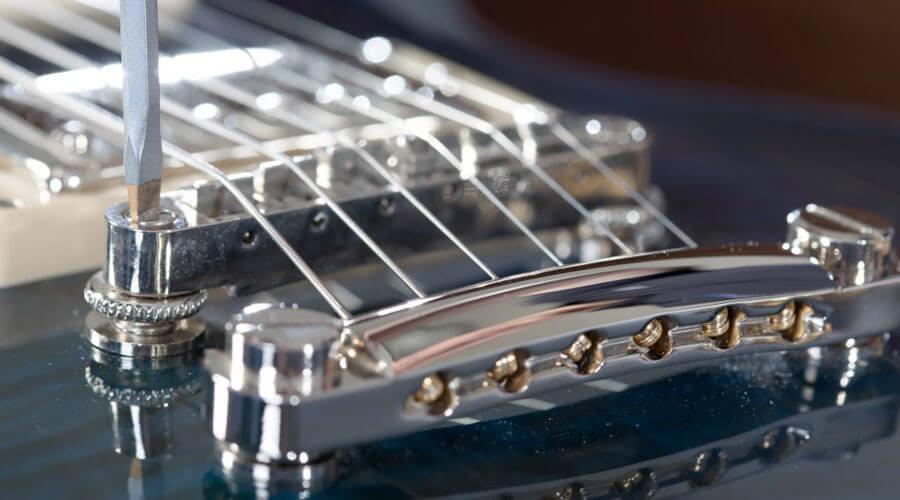 آموزش تنظیم اکشن گیتار الکتریک