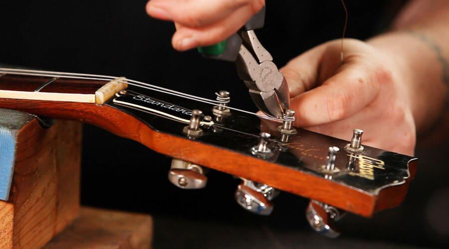 رگلاژ گیتار: آموزش تنظیم گیتار در سه مرحله