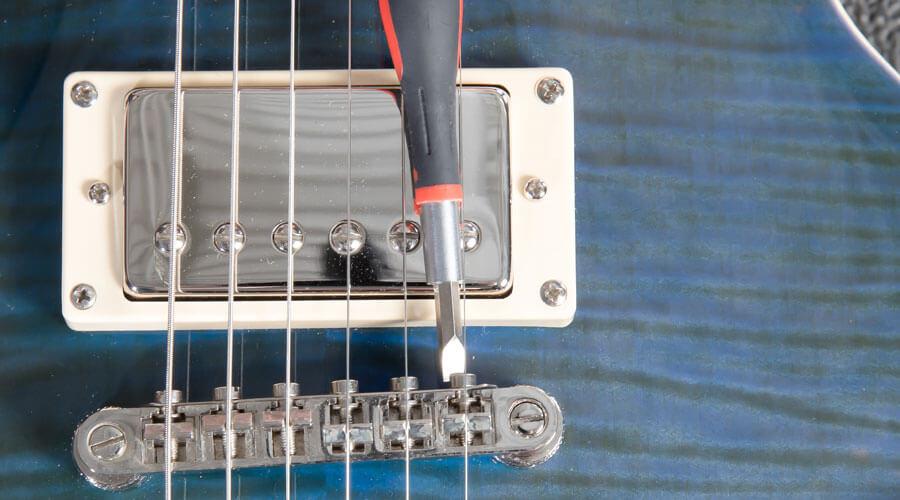 اینتونیشن: تنظیم بریج گیتار برای دستیابی به کوک بهتر